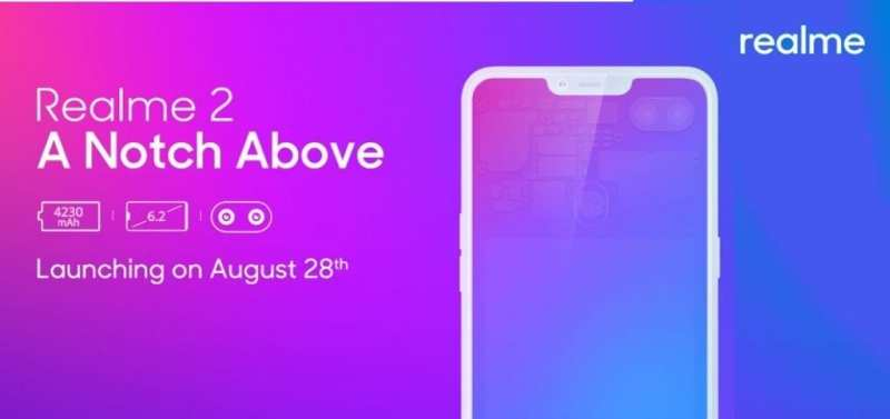 Oppo Realme 2 price will be launched on August 28 in everyone's budget (1)