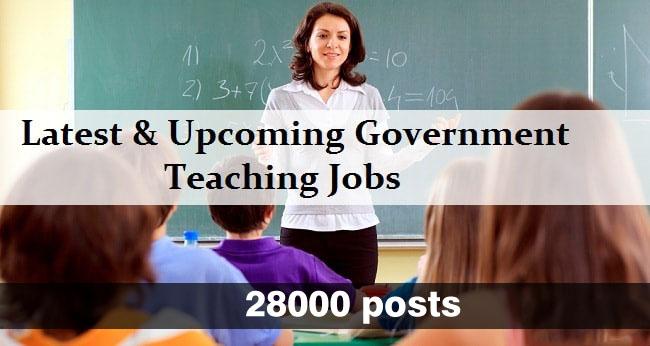 Rajasthan 3rd Grade Teacher Recruitment 2018 – Notification Released For 28000 Teacher Posts