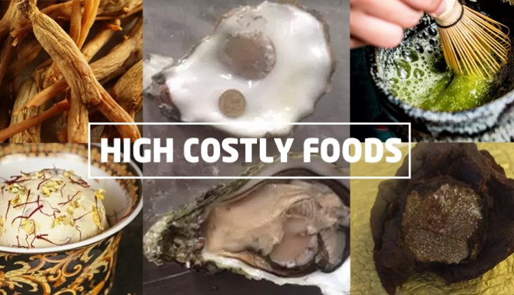 This is the 5 most expensive food items in the world - the price of the number 2 will shock