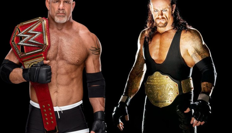 Why have not the Undertaker and Goldberg ever been in any of these years