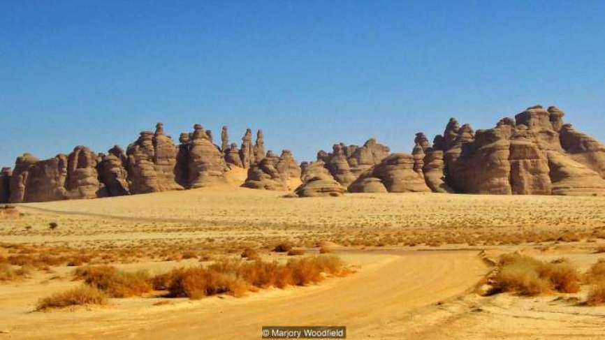 The cursed city discovered in Saudi Arabia, which is mentioned in the Quran