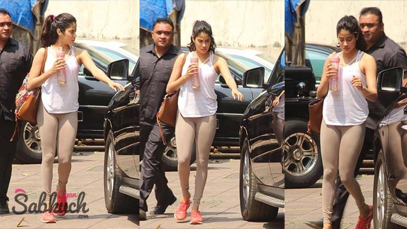 Jhanvi Kapoor Hot Images