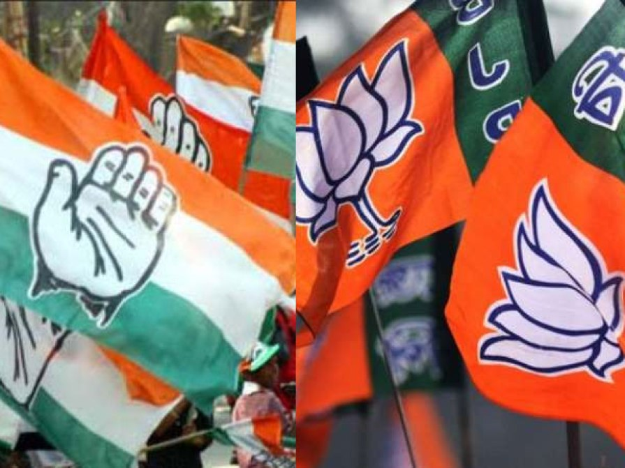 After conquering 3 states, once again conquered the BJP's stronghold