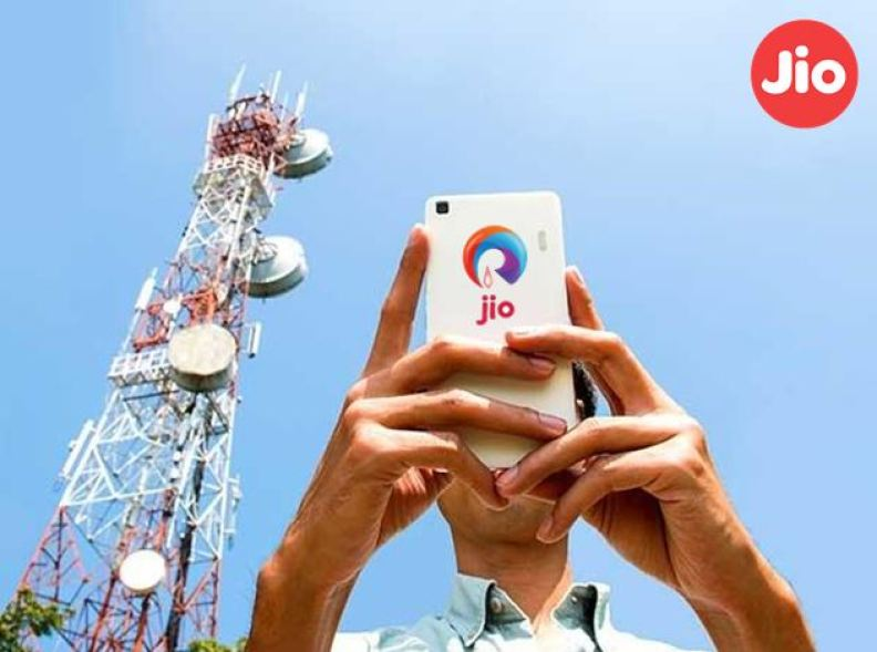Reliance Jio Tower installation at Residence