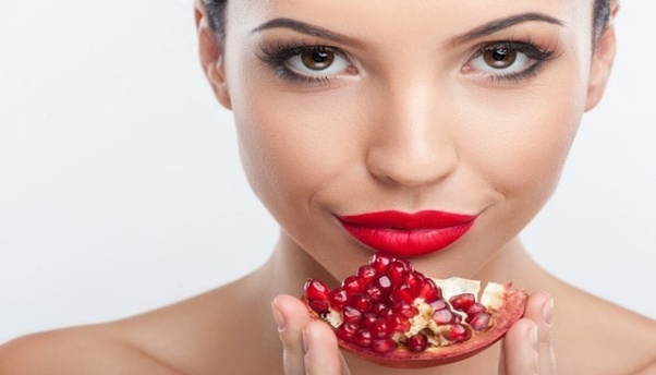 Eat 1 pomegranate daily in your body.