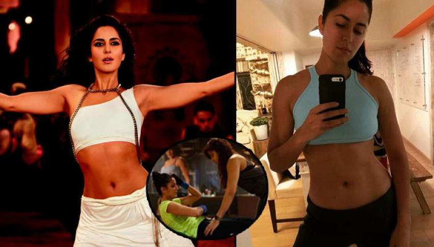 It looks at three Bollywood actresses fitness dress Hot & Bold