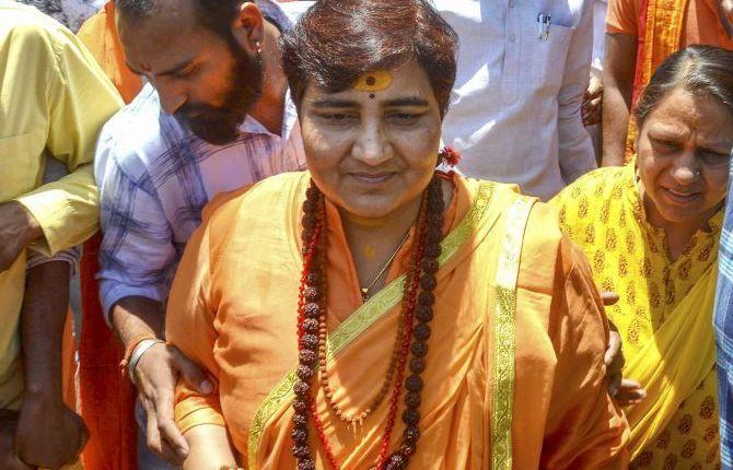Sadhvi Pragya's hospital recruitment pole opened