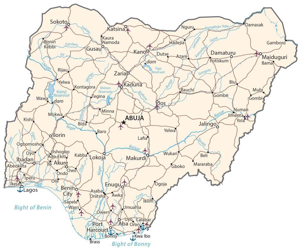Former Capitals of Nigeria