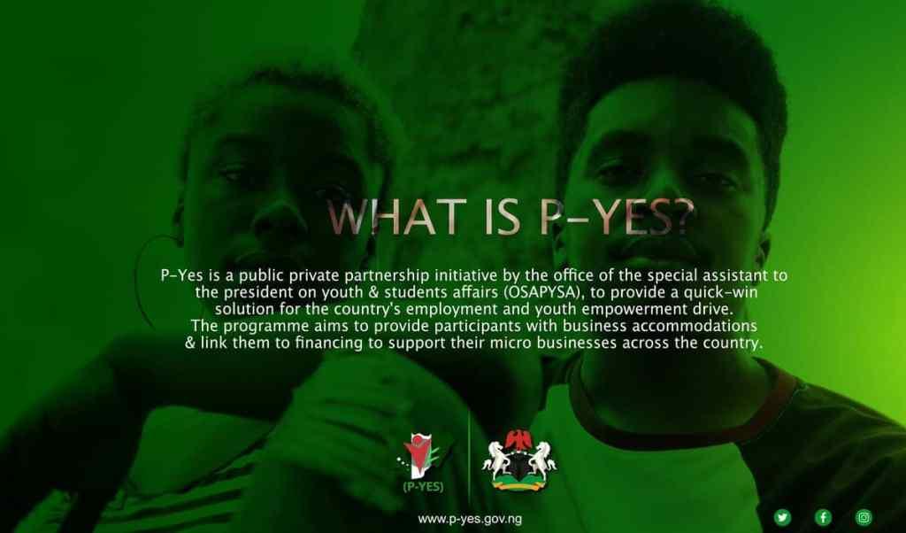 PYES Registration Portal 2021