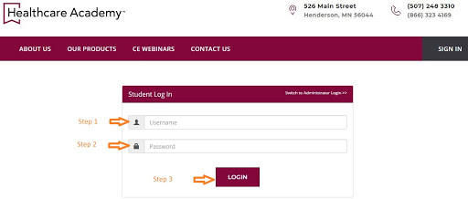 Healthcare Academy Student Portal Login and Other Useful Links