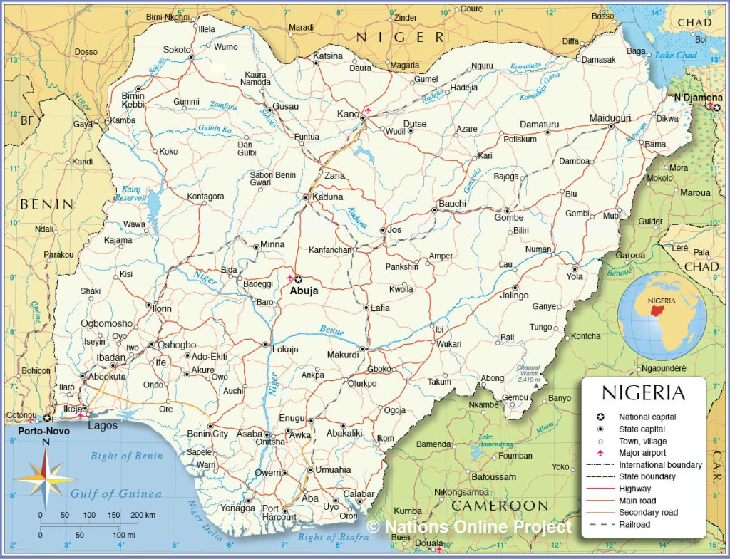 List of Postal Codes in Nigeria for the 36 States