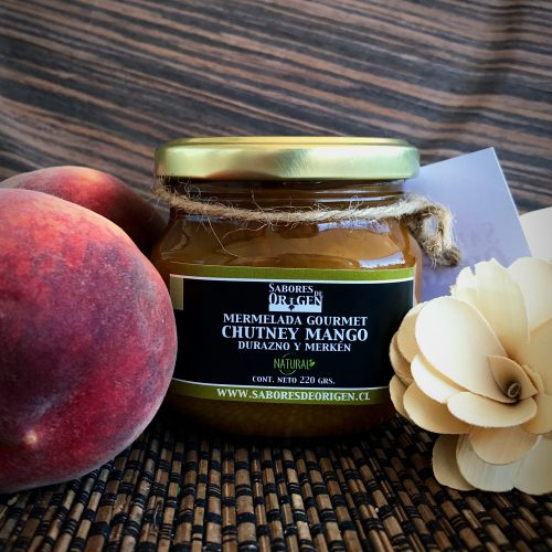 Chutney Mango Durazno y merkén orgánico