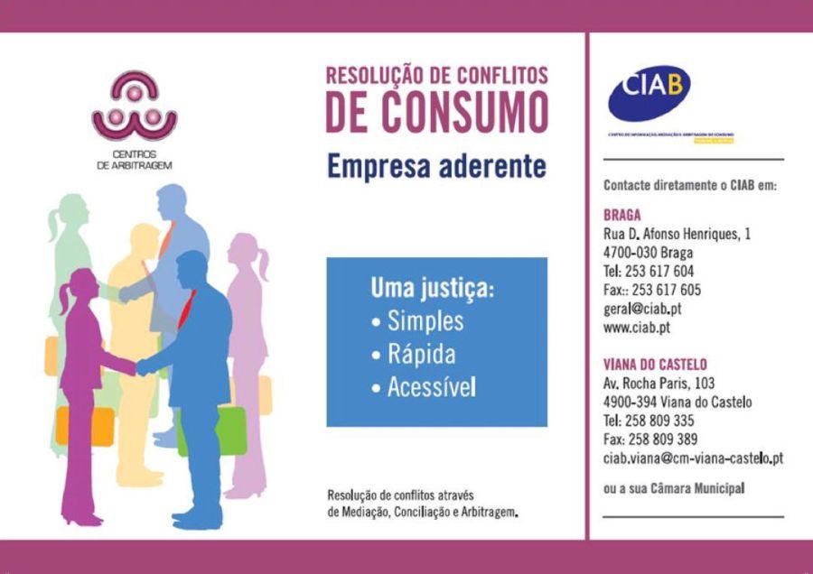 Resolução alternativa de litígios de consumo (RAL) - CIAB