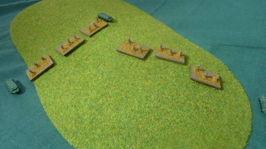 One Soviet platoon redeploys to fire at the attacking Americans