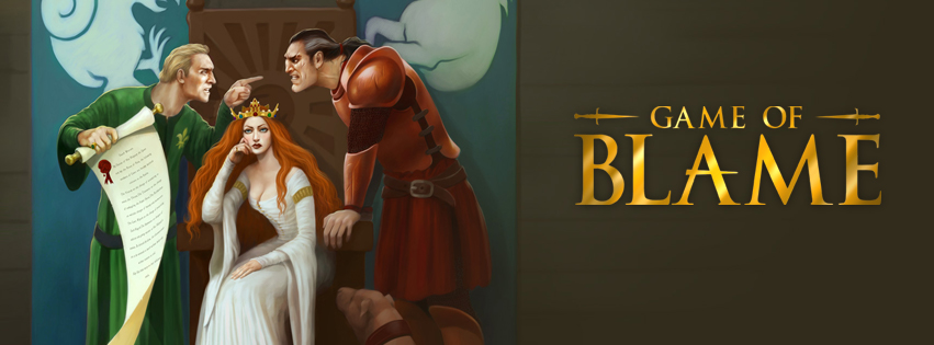 Game of Blame Banner