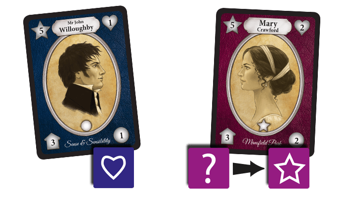 Cards from Jane Austen's Matchmaker Chapter Two