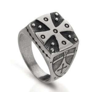 Anello in argento 925 croce