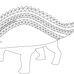 I Know Dino Update: The Dinosaur Coloring Book