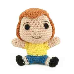 Crochet pattern Christopher Robin