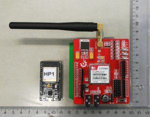 ESP32 and Arduino SIM card shield