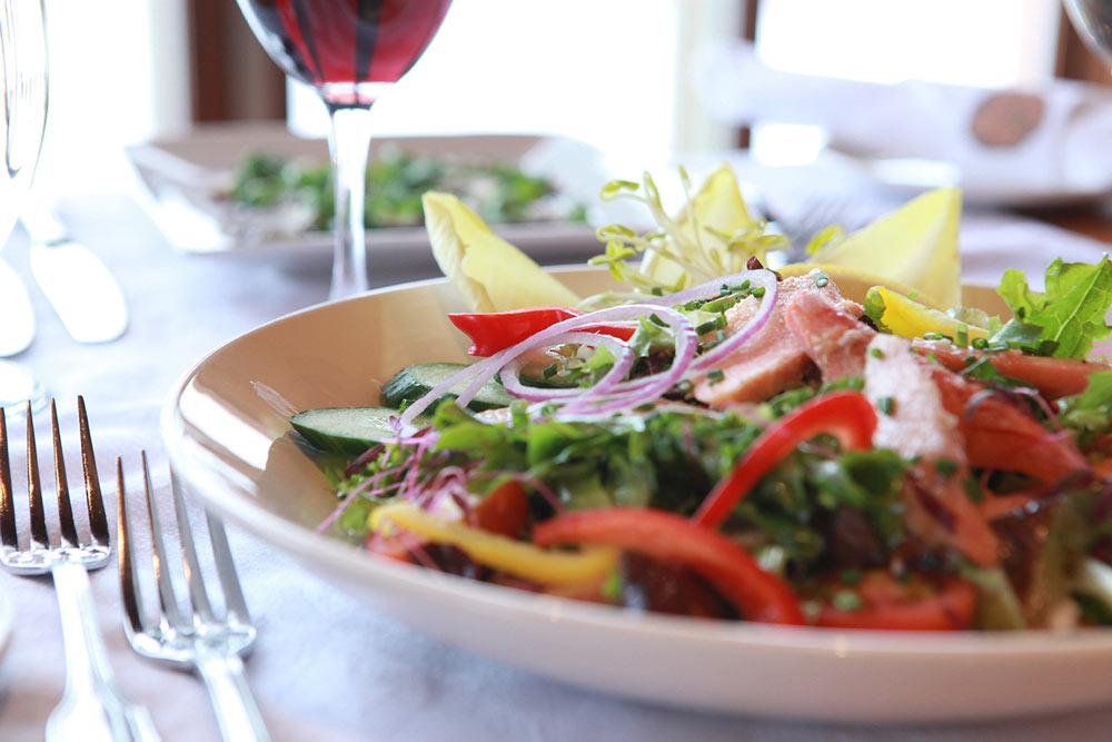 Salade-de-truite