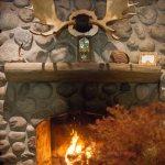 L'automne dans le lobby de l'hôtel Sacacomie à St-Alexis-des-monts.