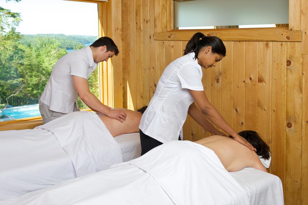 Massage en duo GEOS SPA Hôtel Sacacomie