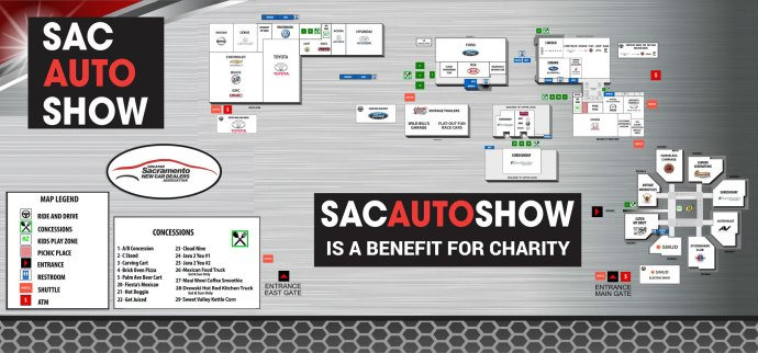 2019 Sacramento Internation Auto Show - Where the cars are the stars!