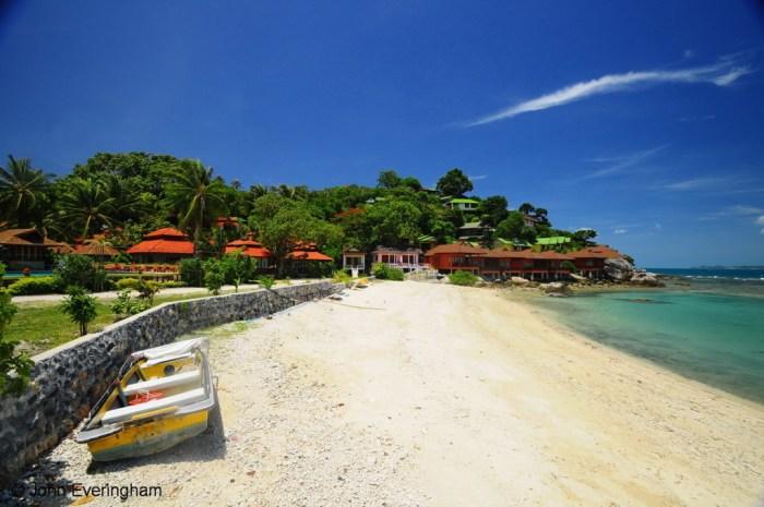 Thailand Koh Phangan Haad Rin Nai Beach Rin