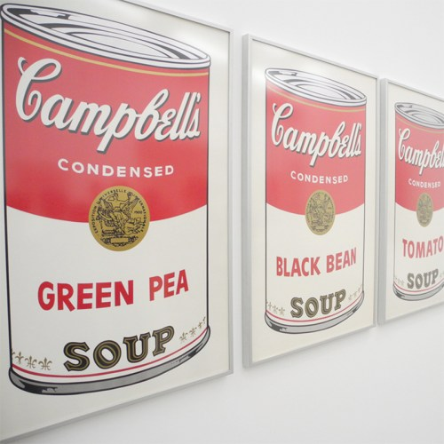 Warhol Campbell Soup - Ludwig goes Pop