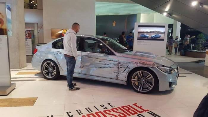 BMW Welt Munich car Mission Impossible