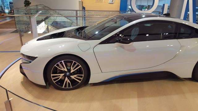BMW Welt Munich i8