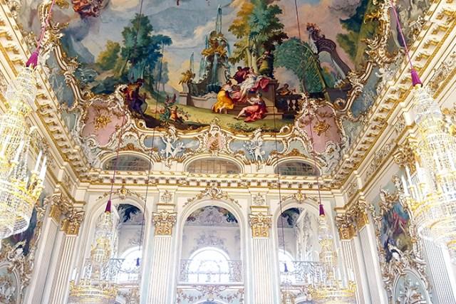 ceiling ballroom nymphenburg munchen