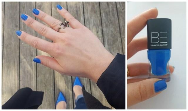 Ready for Summer Janette_BE Creative nail polish Blue Lagoon