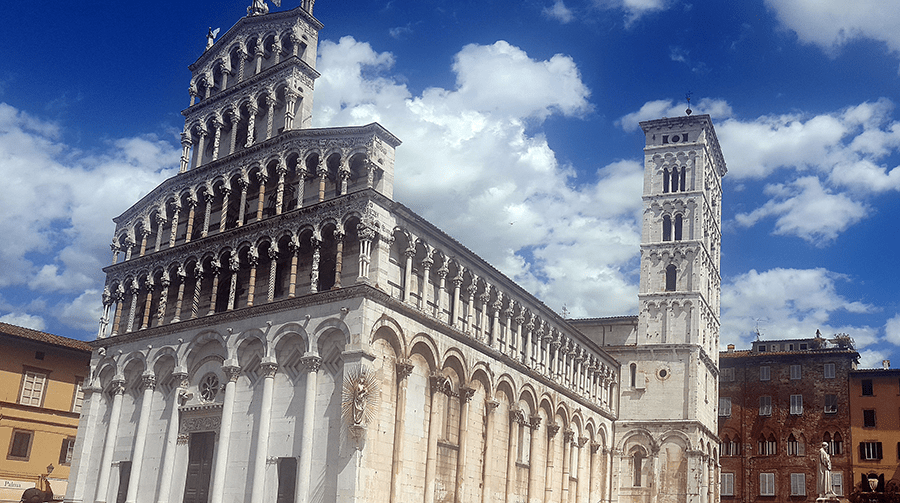 San Michele cathedral in Lucca_