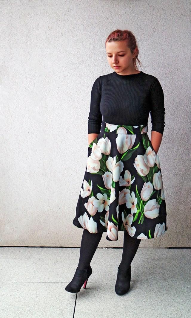 elegant high waisted dress 2