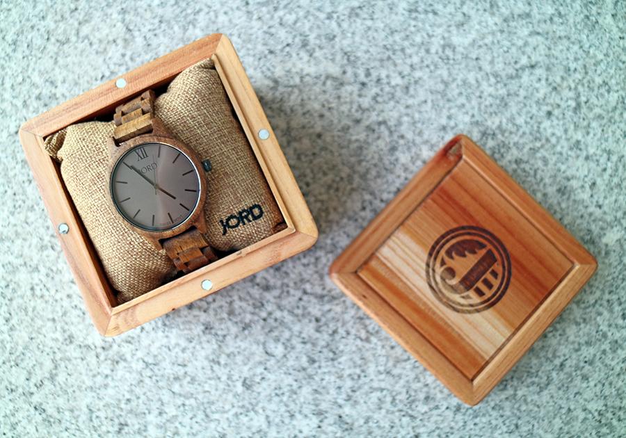unique watch JORD wood watches box