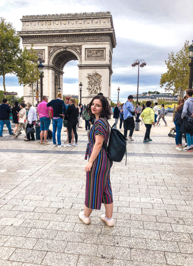 paris 2-day itinerary_arc de triomphe