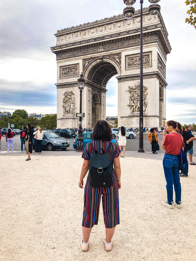 paris 2-day itinerary_arc de triomphe_