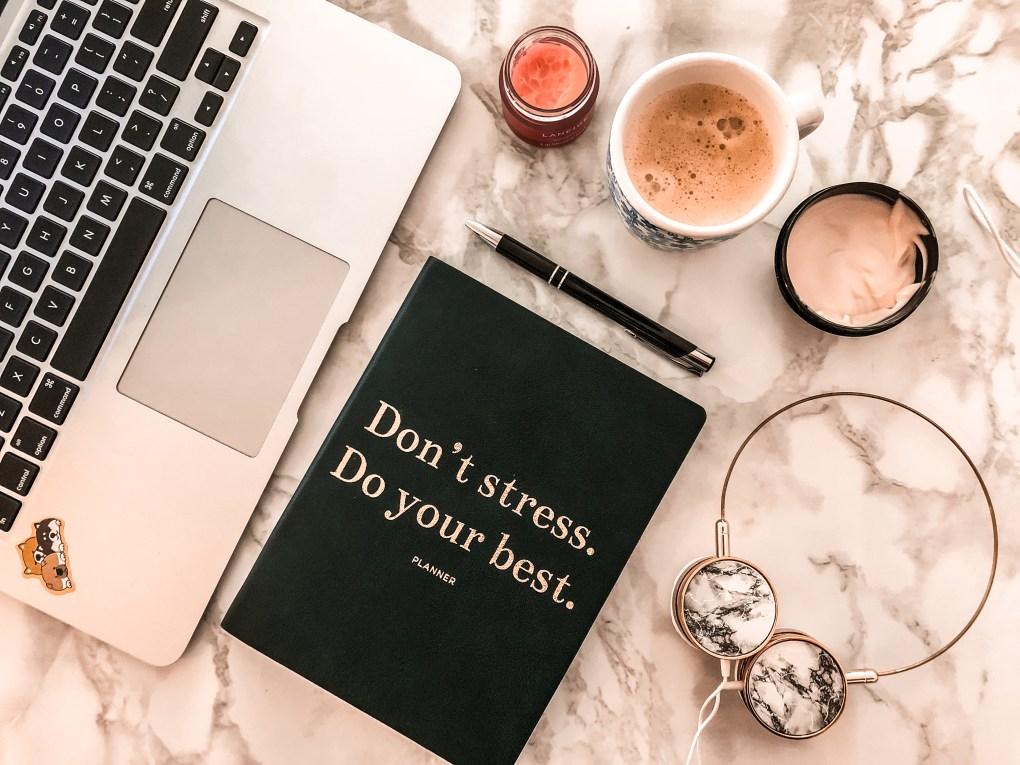 office flatlay 2019