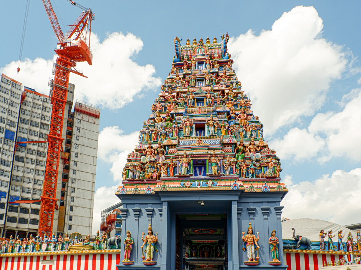 Exploring Little India in Singapore