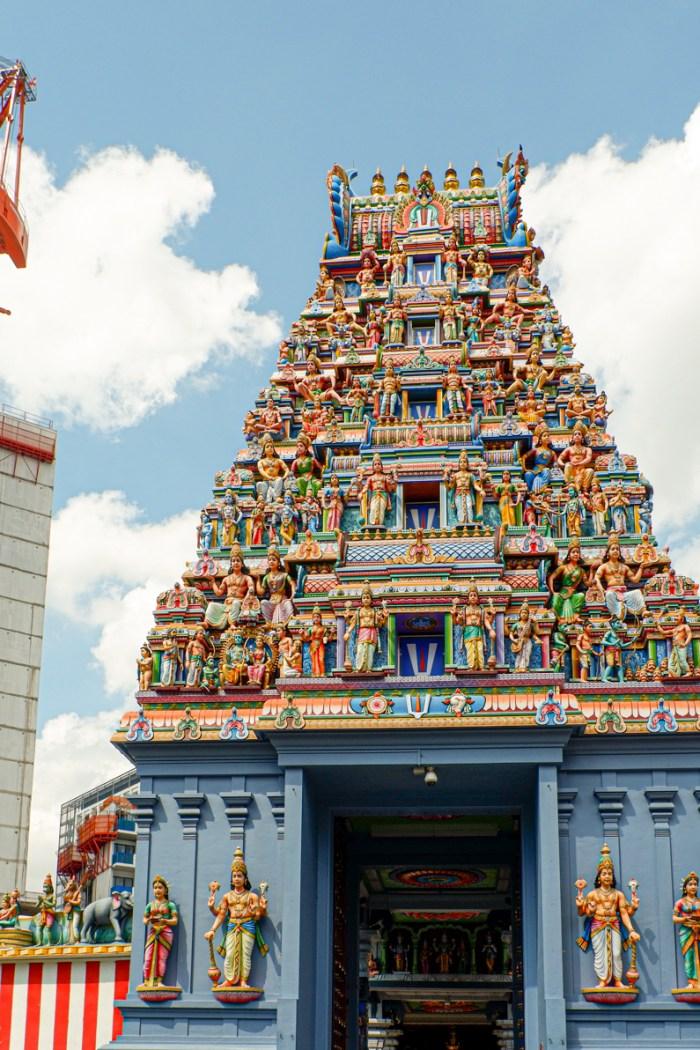 Exploring Little India in Singapore