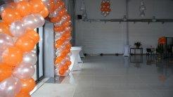 Arche ballons Auto-Champenoise