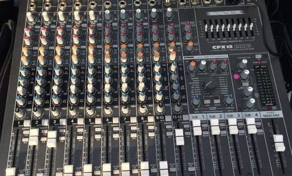 Console Mackie CFX12