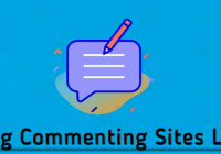 instant approval blog commenting sites list
