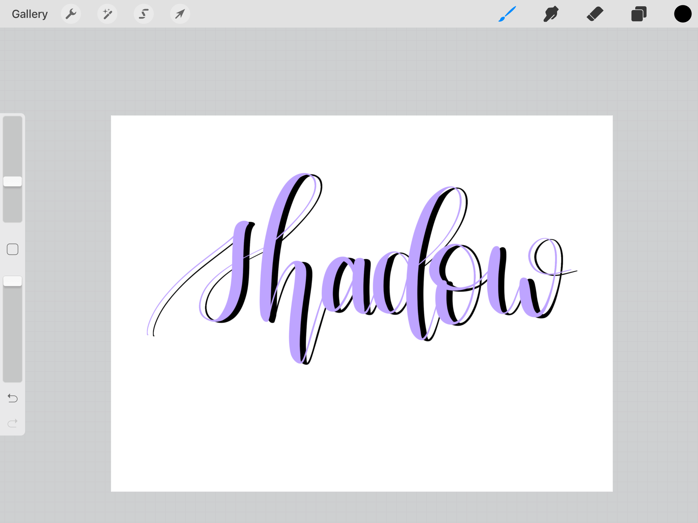 3 Different Techniques to Add Shadows in Procreate - Sachi's Letters
