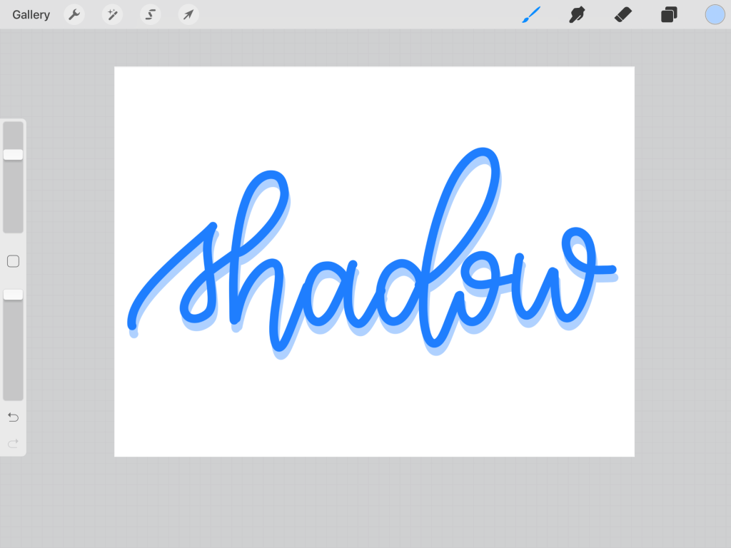 How to add a drop shadow