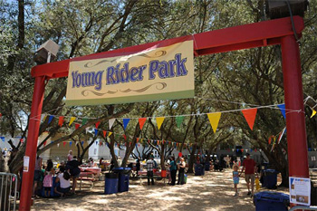 Young Riders Park at Horse Expo