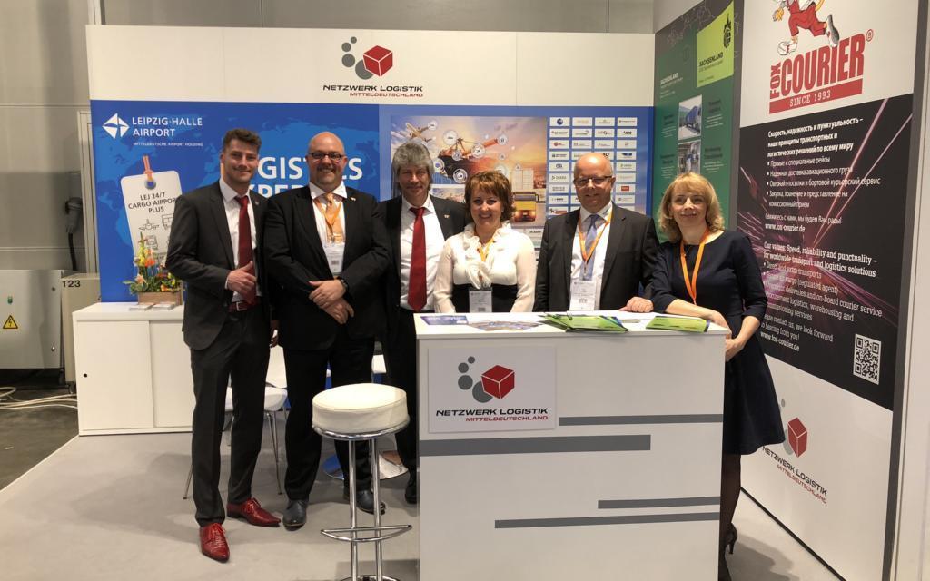 Netzwerk Logistik Mitteldeutschland wirbt in Moskau für Logistikregion