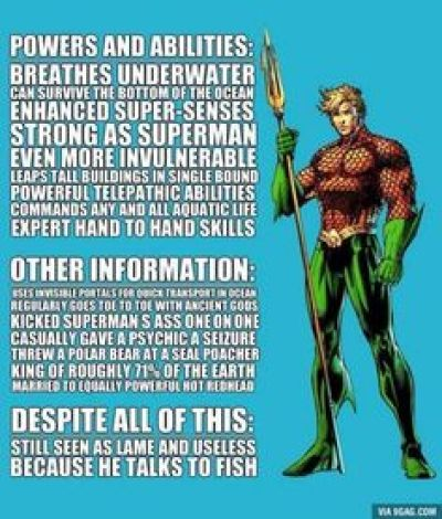 AquamanList